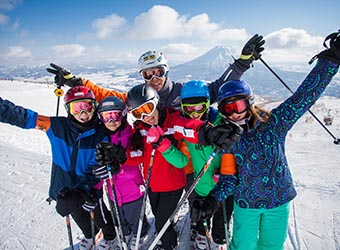 NISEKO SKI RESORT - KIDS SKI FREE IN MARCH 2018