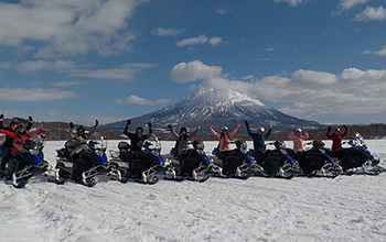 White Isle: Snowmobile Tours